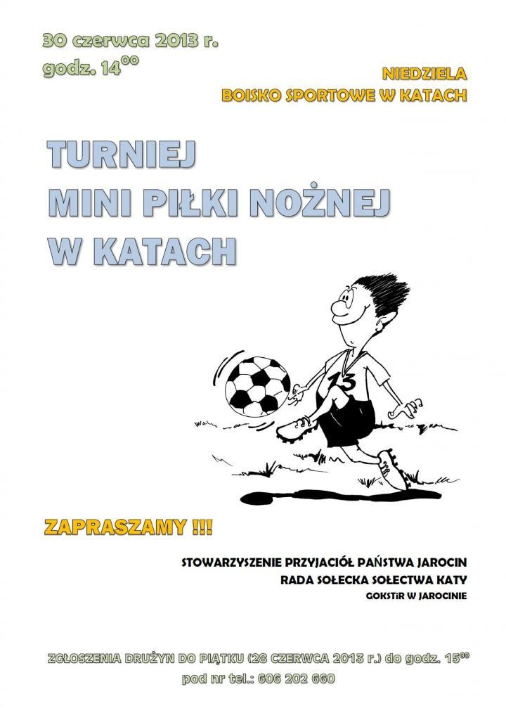 plakat turniej www